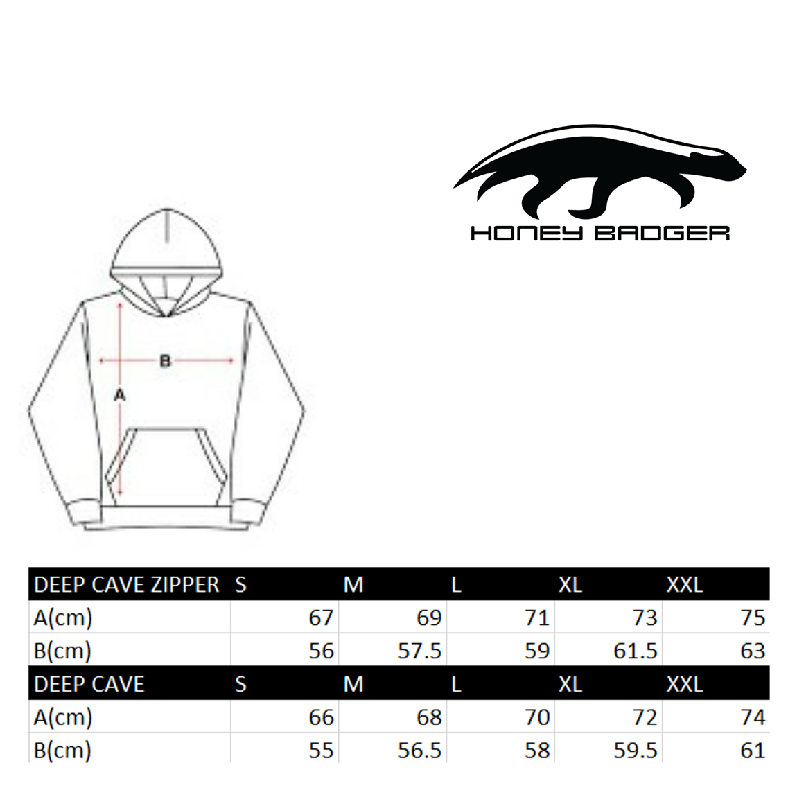 """Picture of Hoodie """"Deep Cave"""" Anthracite zipper"""